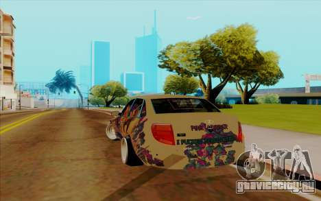 Lada Granta для GTA San Andreas вид сзади слева