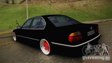 BMW 7 Series E38 Low для GTA San Andreas вид слева