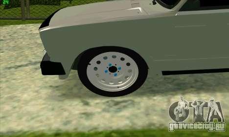 ВАЗ 2104 Красноярский БПАН для GTA San Andreas вид слева