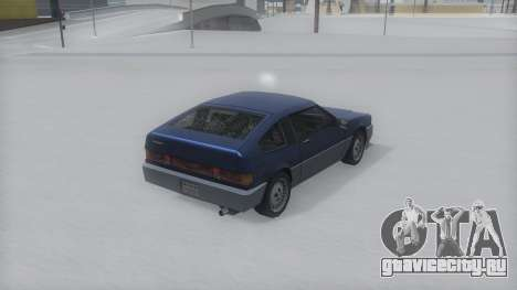 Blista Compact Winter IVF для GTA San Andreas вид слева