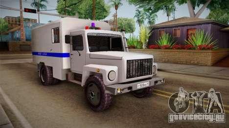 ГАЗ 3309 Милиция для GTA San Andreas