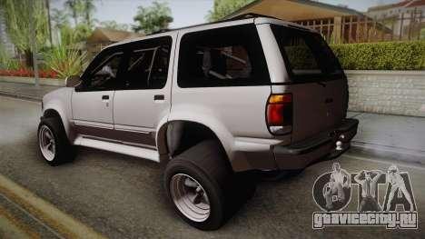 Ford Explorer 1996 Drag для GTA San Andreas вид слева