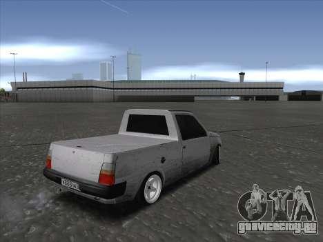 VAZ 1111 Drift для GTA San Andreas вид сзади слева