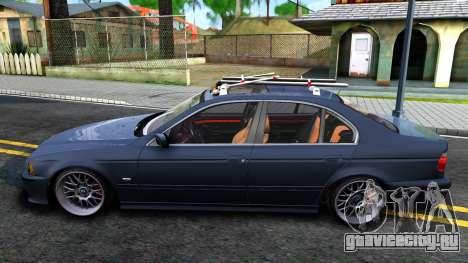 BMW e39 530d для GTA San Andreas вид слева