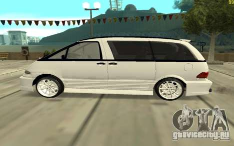 Toyota Estima для GTA San Andreas