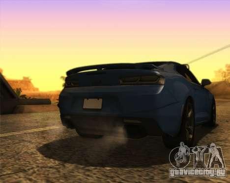 Chevrolet Camaro SS Xtreme для GTA San Andreas вид слева
