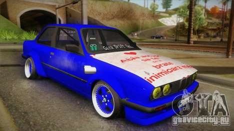 BMW M3 E30 Rocketbunny для GTA San Andreas