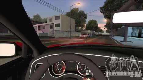 Dodge Charger R/T 2015 для GTA San Andreas вид сбоку