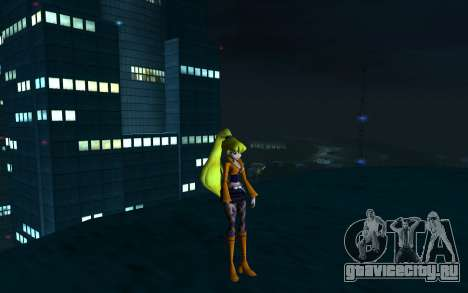 Stella Rock Outfit from Winx Club Rockstars для GTA San Andreas