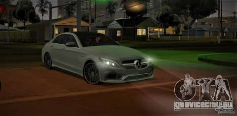 Mercedes-Benz C63 AMG W205 для GTA San Andreas