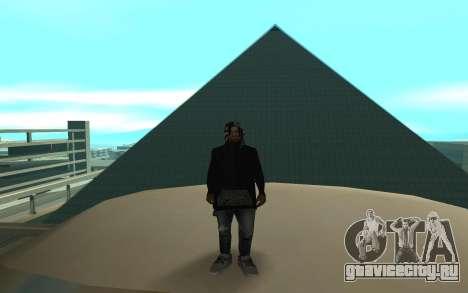 Grove Street Gang Member для GTA San Andreas
