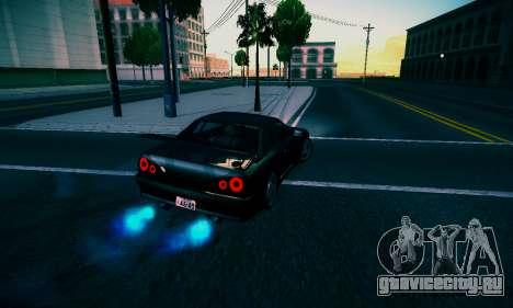 Elegy By DriftRealityTeam для GTA San Andreas вид сзади слева