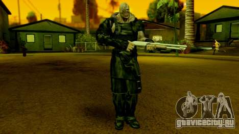Resident Evil ORC - Nemesis для GTA San Andreas второй скриншот