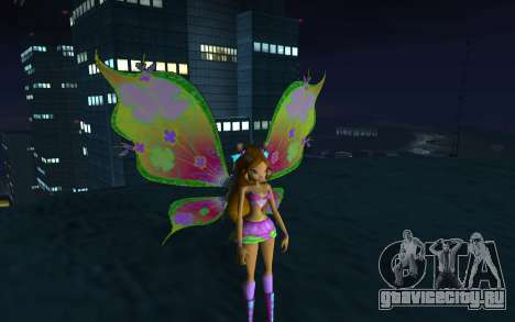 Flora Believix from Winx Club Rockstars для GTA San Andreas