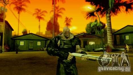 Resident Evil ORC - Nemesis для GTA San Andreas