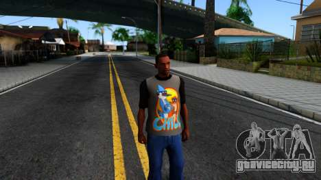Regular Show T-shirt для GTA San Andreas второй скриншот
