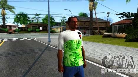 Design Weedleaves T-Shirt для GTA San Andreas второй скриншот
