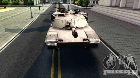M1A1 Abrams COD4MW Remastered для GTA San Andreas вид слева