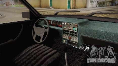 Dacia 1310 Berlina Tunata для GTA San Andreas вид изнутри