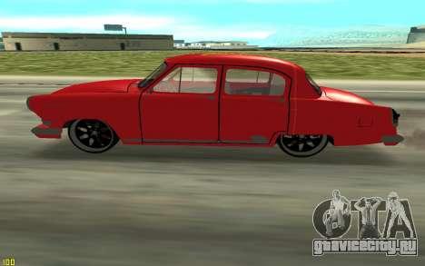 ГАЗ-21 для GTA San Andreas вид слева