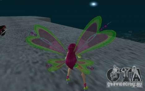 Fairy Roxy from Winx Club Rockstars для GTA San Andreas третий скриншот