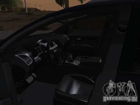 Audi Q7 Armenian для GTA San Andreas вид снизу