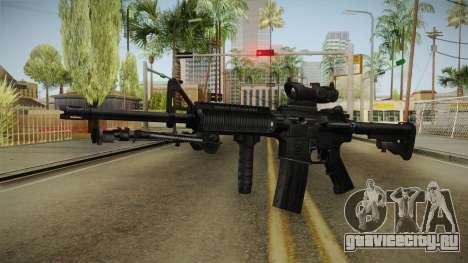 M4A1 ACOG для GTA San Andreas второй скриншот
