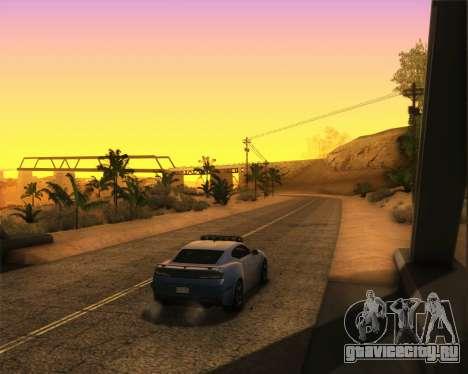 Chevrolet Camaro SS Xtreme для GTA San Andreas вид сзади слева