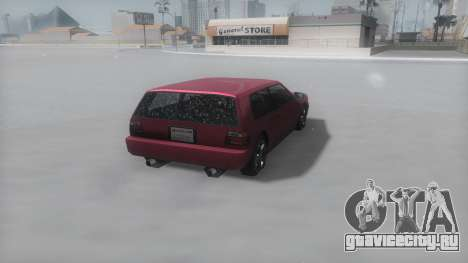 Flash Winter IVF для GTA San Andreas вид справа