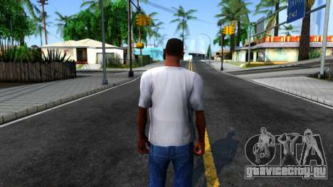 Weezer T-Shirt для GTA San Andreas третий скриншот