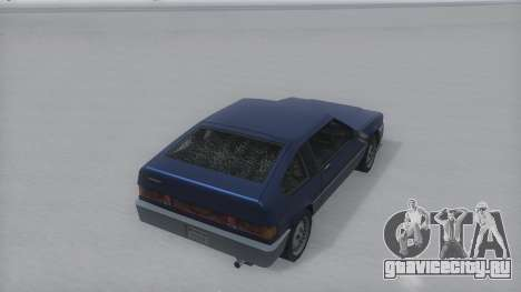Blista Compact Winter IVF для GTA San Andreas