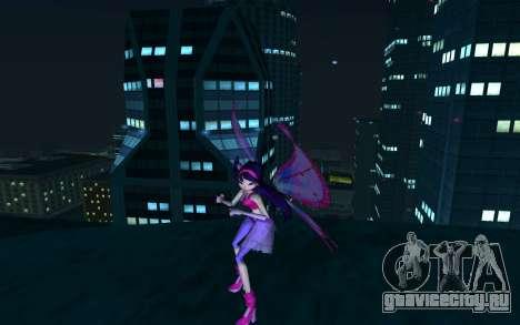 Musa Believix from Winx Club Rockstars для GTA San Andreas второй скриншот