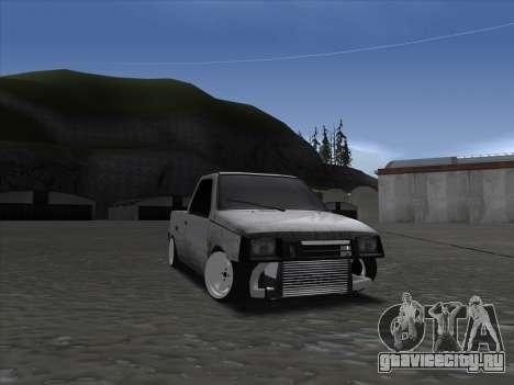 VAZ 1111 Drift для GTA San Andreas вид сзади