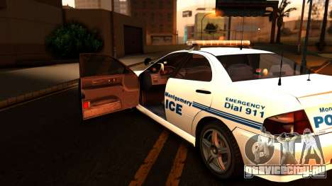1998 Dinka Chavos Montgomery Police Department для GTA San Andreas