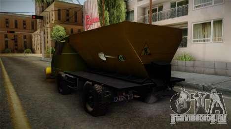 TAM 110 Snow Blower для GTA San Andreas вид справа