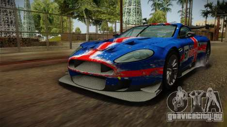 Aston Martin Racing DBR9 2005 v2.0.1 Dirt для GTA San Andreas