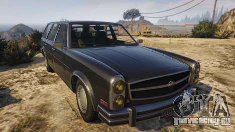 Glendale Station Wagon для GTA 5 вид сзади