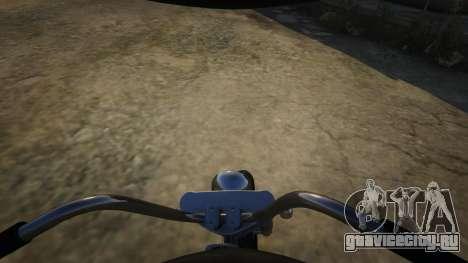 Daemon SOA Harley-Davidson для GTA 5 вид справа