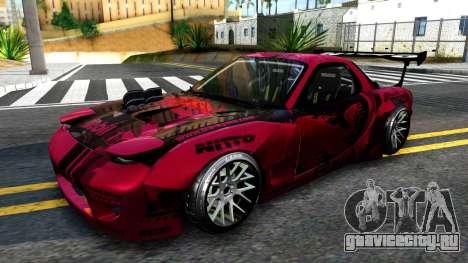 Mazda RX-7 Madbull Rocket Bunny для GTA San Andreas