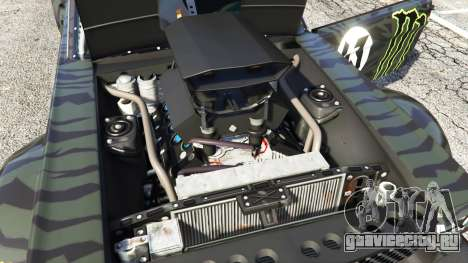 Ford Mustang 1965 Hoonicorn [add-on] для GTA 5 вид справа