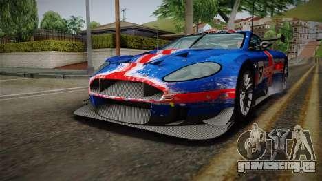 Aston Martin Racing DBRS9 GT3 2006 v1.0.6 YCH v2 для GTA San Andreas