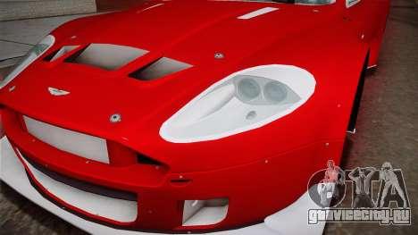 Aston Martin Racing DBRS9 GT3 2006 v1.0.6 YCH v2 для GTA San Andreas вид сбоку