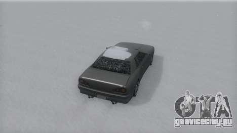 Elegy Winter IVF для GTA San Andreas вид слева