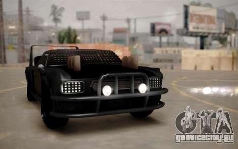Mad Tampa для GTA San Andreas вид изнутри