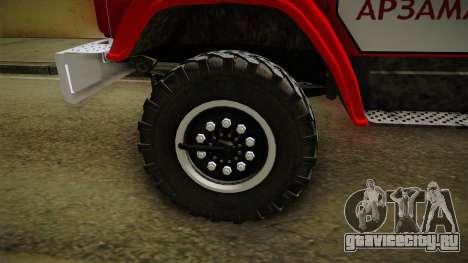 ЗиЛ 433442 АЛ-30 для GTA San Andreas вид сзади