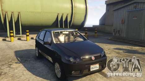 Fiat Palio Way Brasil 2015 для GTA 5