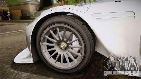 Aston Martin Racing DBR9 2005 v2.0.1 YCH для GTA San Andreas вид сзади слева