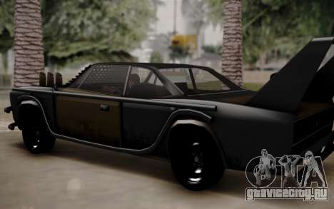 Mad Tampa для GTA San Andreas вид сзади