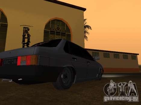 VAZ 21099 BPAN для GTA San Andreas вид сзади слева
