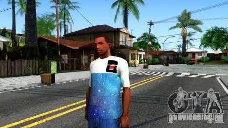 Design Galaxy T-Shirt для GTA San Andreas